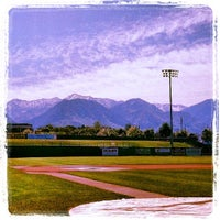 Photo taken at Brent Brown Ballpark by Orem Owlz B. on 5/25/2013