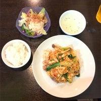 8/23/2016 tarihinde soranyanziyaretçi tarafından 立川タイ料理レストラン バーンチャーン'de çekilen fotoğraf