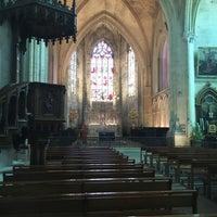 Photo taken at Église Monolithe by Jose Rafael B. on 6/22/2017