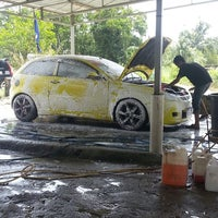 Photo taken at RSZ Carwash by Mohd F. on 7/20/2013