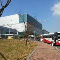 Photo taken at Samsung 정보통신동 by Brandon C. on 11/5/2013