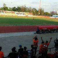 Photo taken at Sam Ao Stadium by Pond P. on 3/31/2013