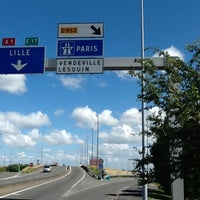 Photo taken at Autoroute A1 | L'Autoroute du Nord by Dmitry V. on 7/1/2012