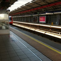 Photo taken at Metro Rojas Magallanes by Java Q. on 10/19/2011