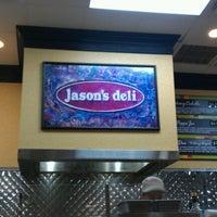 Photo taken at Jason's Deli by Jordan R. on 10/23/2011