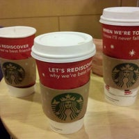 Photo taken at Starbucks by Christopher S. on 12/6/2011
