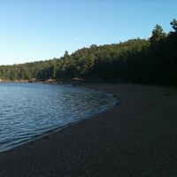 Photo taken at Little Presque Isle by Jono on 7/12/2011