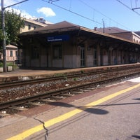 Photo taken at Genova Sampierdarena Railway Station by Amanda A. on 4/20/2012