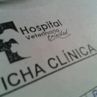 Photo taken at Hospital Veterinario Trinidad by Paulo L. on 8/1/2012