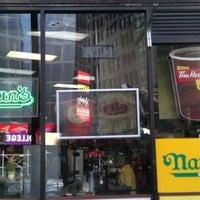 Photo taken at KFC/Tim Horton's/Nathan's by Joe G. on 3/10/2012