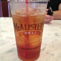Photo taken at McAlister's Deli by Joseph H. on 7/1/2012