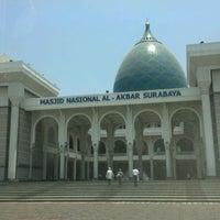 Photo taken at Masjid Nasional Al-Akbar by Zikrullah M. on 9/21/2012