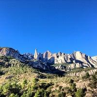 Photo taken at Monistrol de Montserrat by Ali K. on 2/7/2013