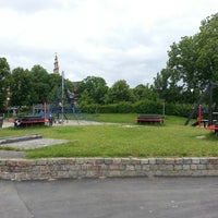 Photo taken at Legeplads Christianhavns Volde by Rasmus K. on 6/30/2013
