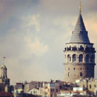 Photo taken at Galata Tower by Sefa Y. on 7/13/2013
