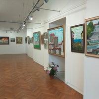 Photo taken at изложбена  зала by Denis M. on 10/4/2018