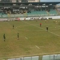 Photo taken at Stadio Tommaso Fattori by Aydın Ö. on 2/7/2016