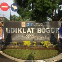 Photo taken at PT PLN (Persero) Udiklat Bogor by Vinessa Atthya H. on 10/20/2016