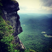 Photo taken at Whiteside Mountain by Paul W. on 6/1/2014