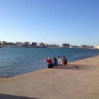 Photo taken at Faro de la Punta Del Muro by Oscar S. on 4/20/2013