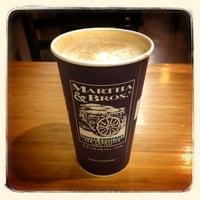 Photo taken at Martha & Bros. Coffee by Gaelen G. on 1/19/2013