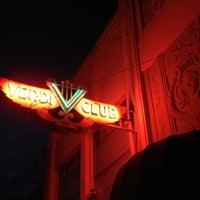 Photo taken at Verdi Club by Gaelen G. on 1/26/2013