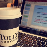 Photo taken at Tully's Coffee by Samar🐝 on 4/19/2017