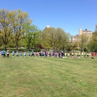 Photo taken at Central Park - North Meadow Fields 1-4 by Ilana W. on 5/2/2013