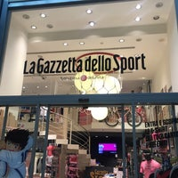 Photo taken at Gazzetta Store by ANDREA D. on 2/24/2016
