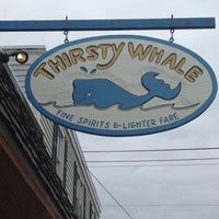 Photo taken at Thirsty Whale by James K. on 4/20/2013