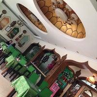 Photo taken at Crescent Moon Uygur Restaurant by HA W. on 5/2/2014