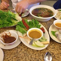 Photo taken at Ba Mien Family Restaurant by Rebecca B. on 2/23/2013