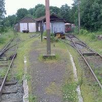 Photo taken at Arret du train by Urte on 6/22/2013