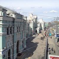 Photo taken at Rizhsky Rail Terminal by Дмитрий Е. on 5/1/2013
