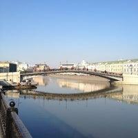 Photo taken at Bolotnaya Square by Дмитрий Е. on 4/16/2013