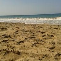 Photo taken at Playa Puerto Francés by Jennifer T. on 4/2/2013