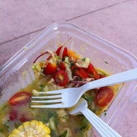 Photo taken at My Ceviche by Wingstop p. on 10/7/2012
