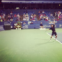 Photo taken at Citi Open Tennis Tournament by Wes S. on 7/30/2013