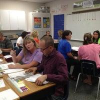 Photo taken at Pioneer Intermediate school by Karen C. on 9/13/2013