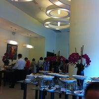 Photo taken at Cine Cafe by Derek L. on 10/21/2012