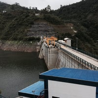 Photo taken at Represa Proyecto Hidroelectrico Pirrís by CMC M. on 7/18/2014