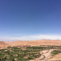 Photo taken at Ouarzazate by Emma B. on 4/10/2016