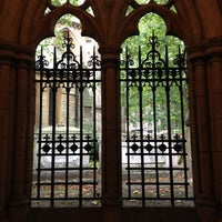 Photo taken at St Mary Abbots Gardens by TLOV on 10/8/2013