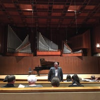 Photo taken at Paul Recital Hall at Juilliard by Bethany C. on 4/3/2017