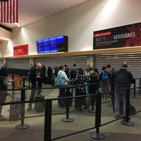 Photo taken at TSA Security Check Point by Bethany C. on 3/16/2017