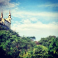 Photo taken at Sanctuary of Our Lady of Penha de France by Thiago P. on 11/20/2012