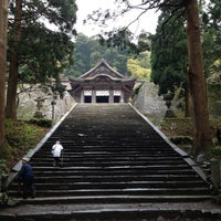Photo taken at 大神山神社 奥宮 by takeshi on 5/4/2013