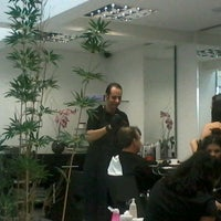 Photo taken at André Moreira Hair Stylist by Cristiane d. on 4/27/2013