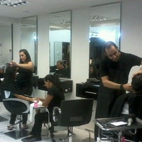 Photo taken at André Moreira Hair Stylist by Cristiane d. on 11/22/2014