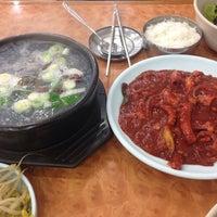 Photo taken at 유림낙지 by Yunha K. on 10/31/2014